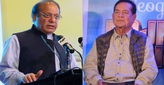 Salim Khan Takes A Dig At Sharif On Twitter And It's Super Cool