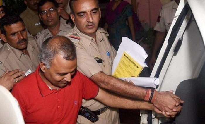 AAP MLA Somnath Bharti Arrested For Assaulting AIIMS Staff