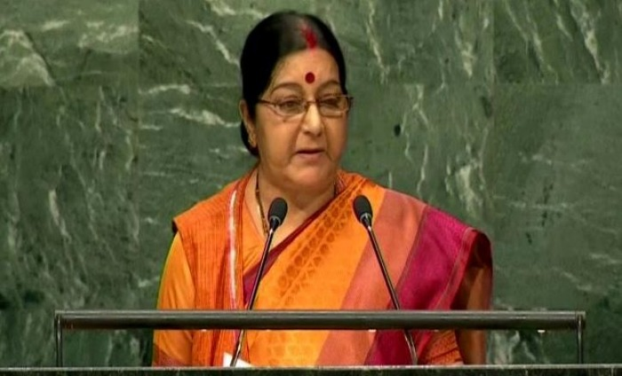 Sushma Swaraj Condemns Pakistan At United Nations General Assembly Speech