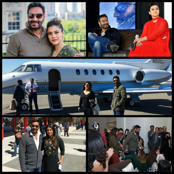 Ajay Devgn-Kajol Promote Shivaay And Give Us Relationship And Travel Goals!