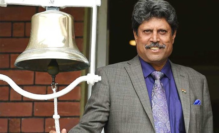 Kapil Dev Rings The Bell At Eden Gardens