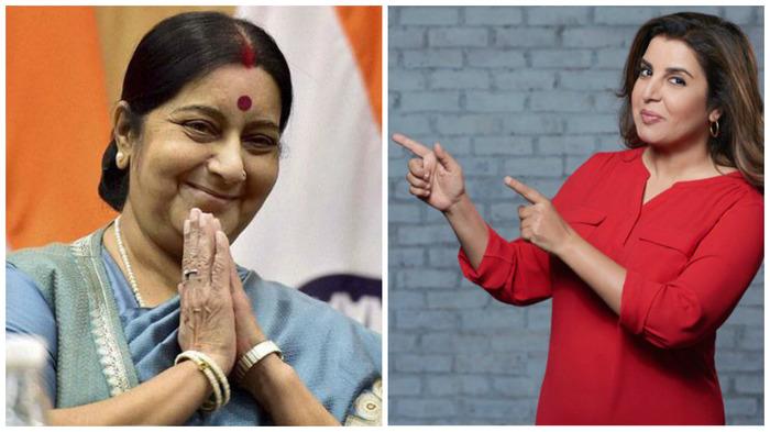 Farah Khan Slams Sushma Swaraj Over Surrogacy Bill