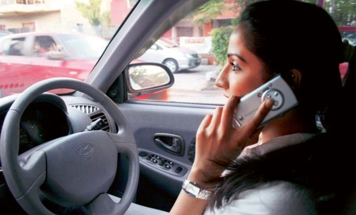 Talking On The Phone While Driving Will Cost You Your License In Gurugram