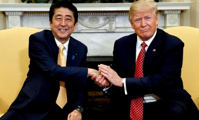 Here's What Japanese PM Said About Donald Trump