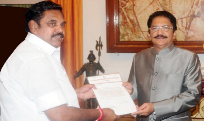 E. Palaniswamy Takes Oath As Tamil Nadu CM