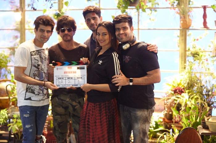 Ittefaq Shoot Begins With Shahrukh Khan On Set