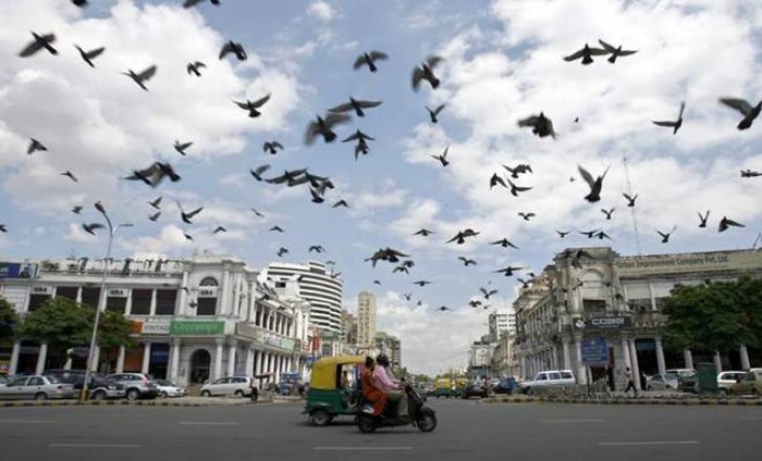 Connaught Place Shuts Down Over New Traffic Plan