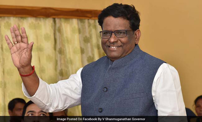Meghalaya Governor V Shanmuganathan Resigns On The Charges Of Sexual Misconduct