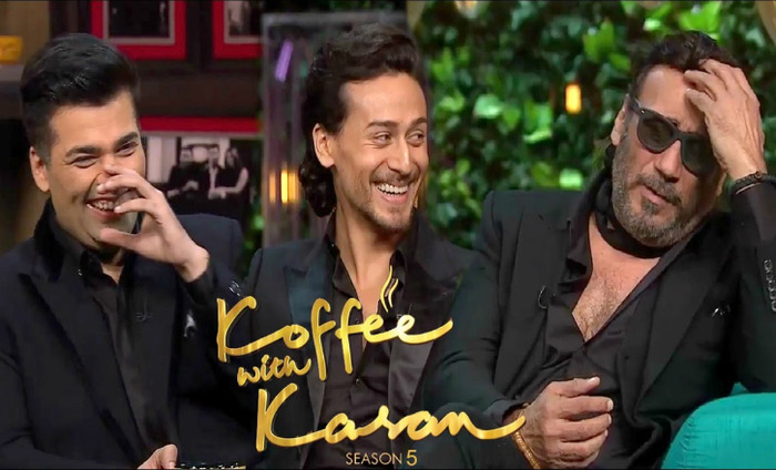 Koffee With Karan Season 5 With Jackie And Tiger Shroff Was Honest, Witty And Full Of Charisma
