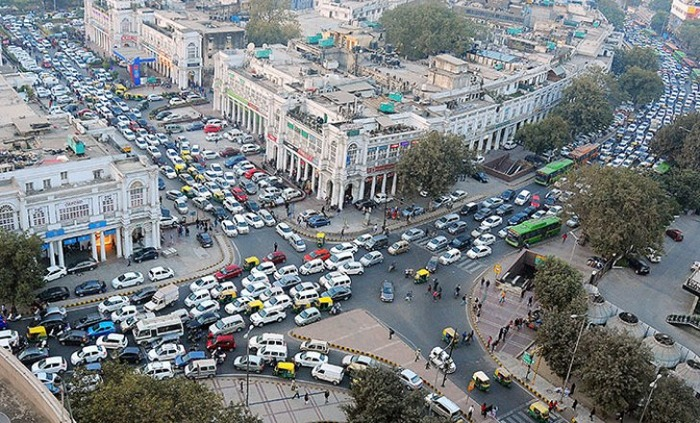 Connaught Place To Be A Car-Free Zone From February