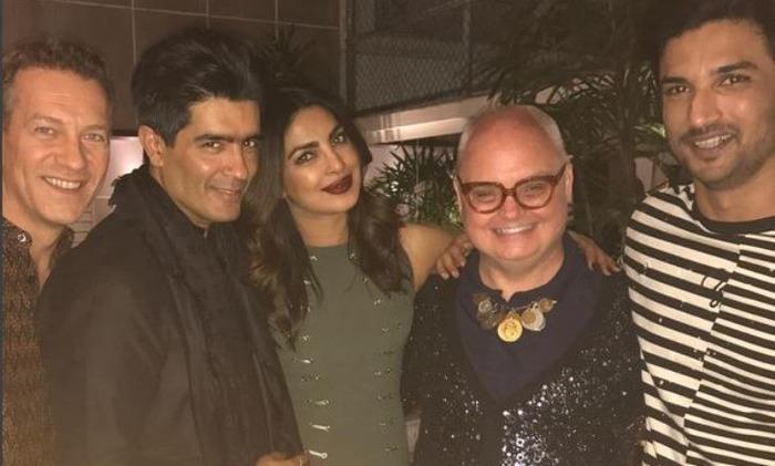 Manish Malhotra Throws Homecoming Party For Priyanka Chopra