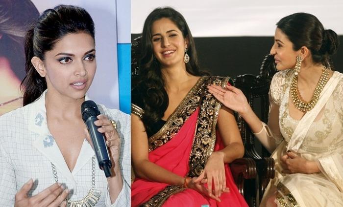 When Deepika Padukone Praised Katrina And Anushka