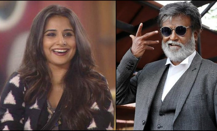 We Will Know In A While: Vidya On Working With Rajinikanth