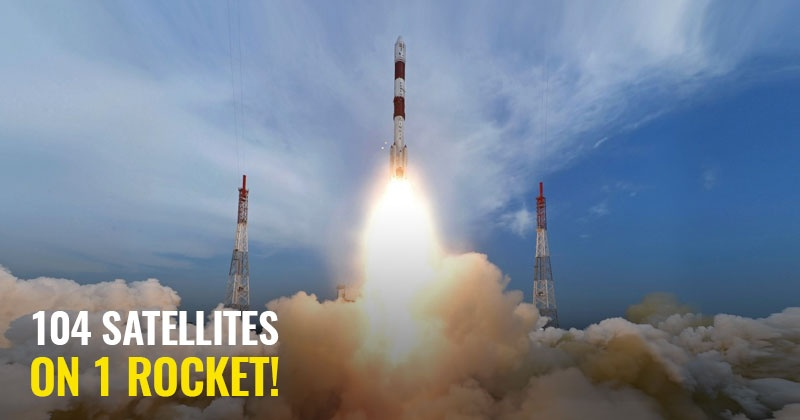 ISRO PSLV-C37 Sets Unbeatable World Record - Launches 104