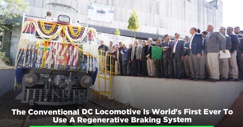 BHEL Electric Locomotive:India Creates World's First DC Locomotive