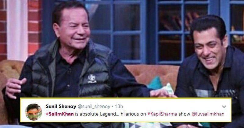 Salim Khan:Salim Khan Steals The Show From His Sons Salman, Arbaaz