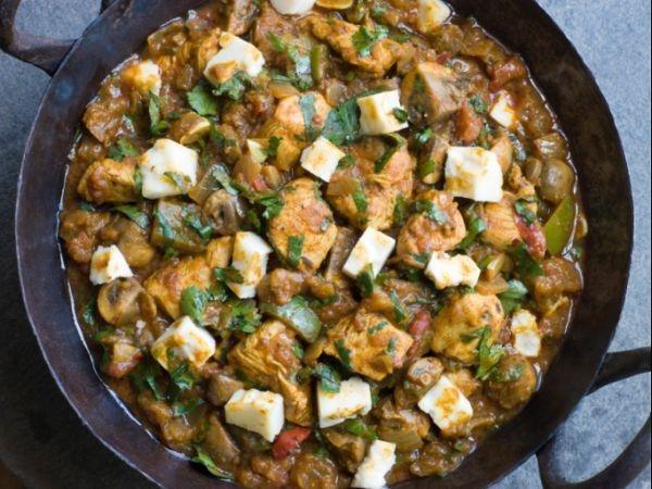 Paneer Chicken Protein-rich Curry: