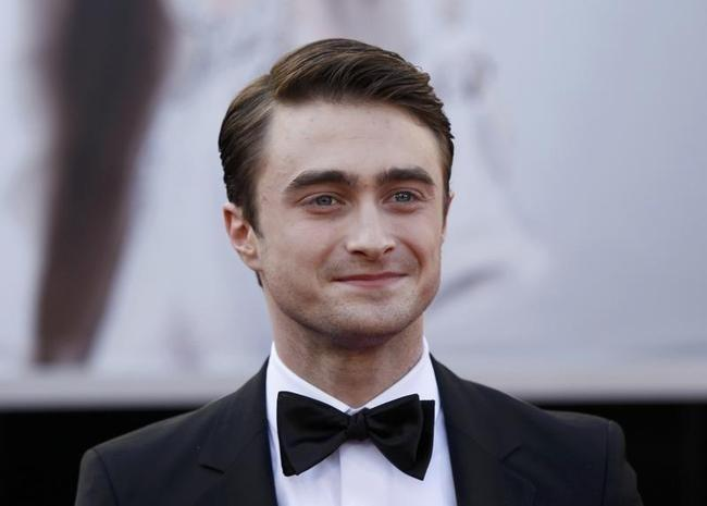 Actor Daniel Radcliffe arrives at the 85th Academy Awards in Hollywood