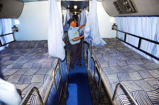 Sleeper Ac Volvo Bus Service From Maharashtra To Bangalore