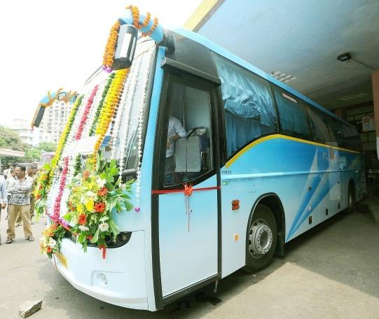 Sleeper Ac Volvo Bus Service From Maharashtra To Bangalore