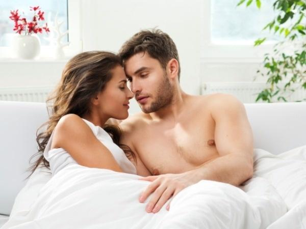 Is a man stronger after sex or before