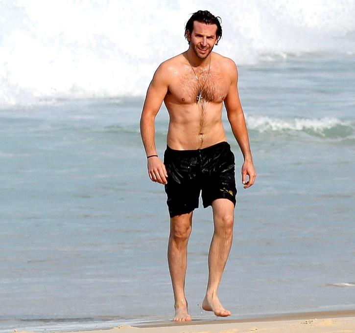 Hot and Fit Male Celebrity # 15: Bradley Cooper