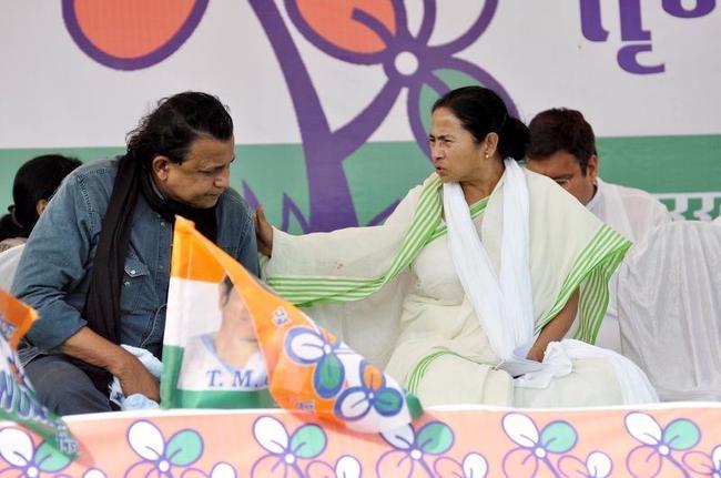 Mithun Chakraborty campaigns