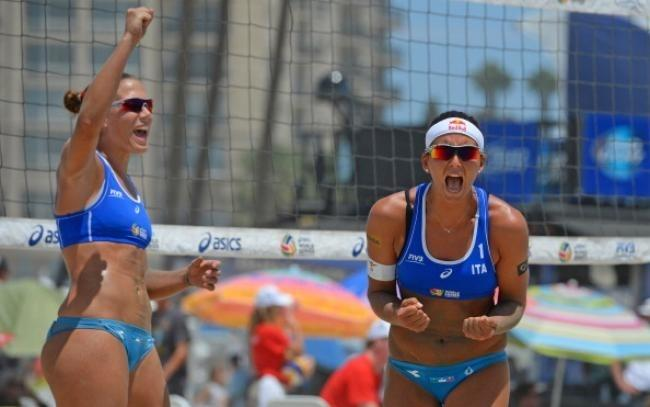 For explanation, Sexy beach volleyball payers