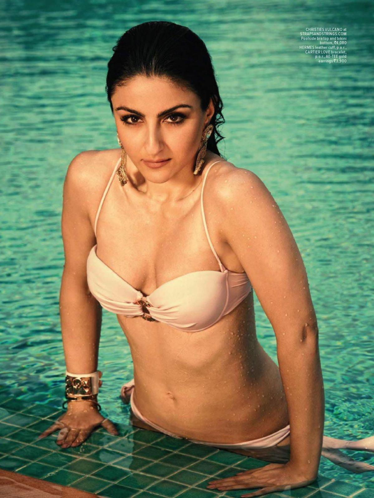Water Baby Soha Ali Khans Sexy Swimsuit Shoot -4453