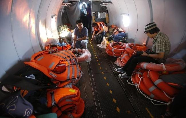 Search Operation for the Missing Malaysian Airline Plane