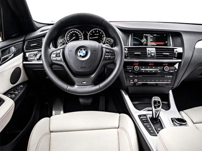 Inside The New 2014 Bmw X4 Suv