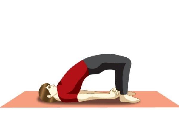11 Ways to Heal Gaming Addiction Using Yoga   Setu Bandhasana