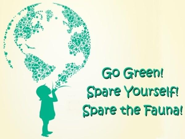 Why Should I Become a Vegetarian?  Go Green! Spare the Fauna!
