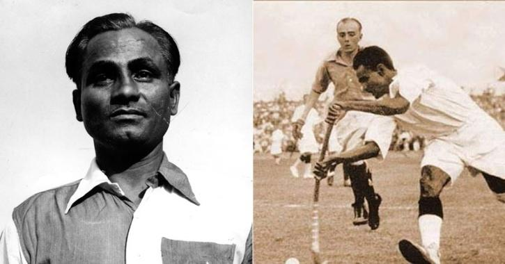rare photos of dhyan chand