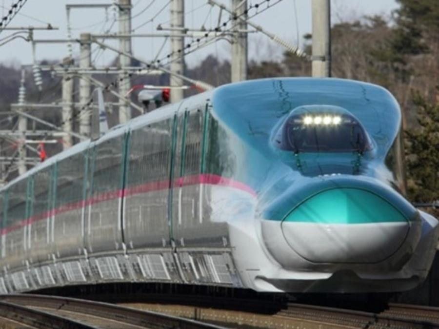 See The First Photos Of Mumbai-Ahmedabad Bullet Train E5 Series Shinkansen
