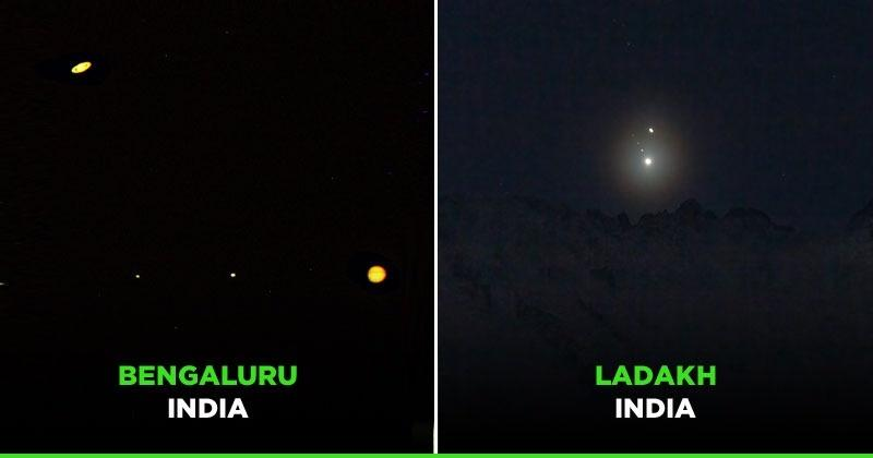 Christmas Star Shines: Pictures Of The Jupiter-Saturn Conjunction Seen After Almost 800 Years - India Times