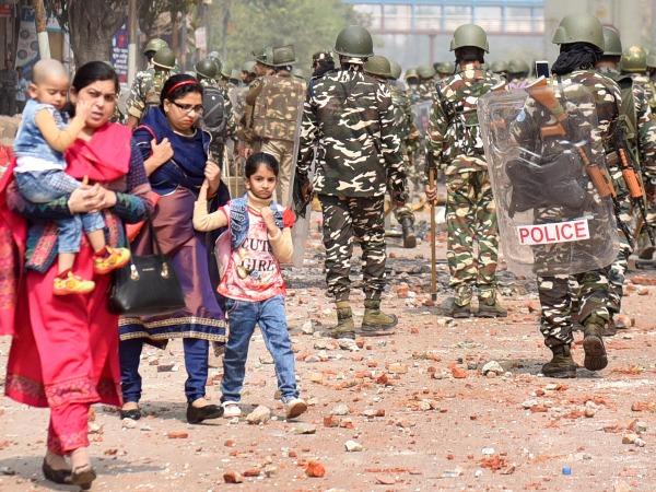 delhi communal violence