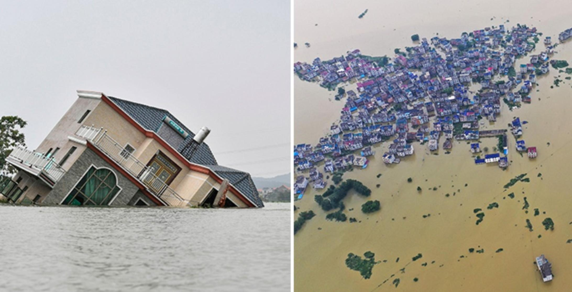 Now, Floods In China