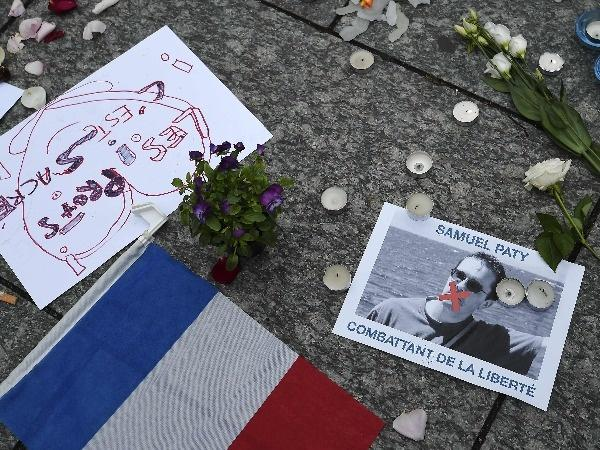 Protest in france