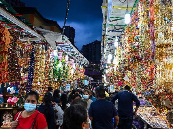 Singapore Little India Deepavali celebration 2020