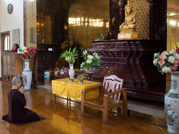 Buddhist Nun Ketumala