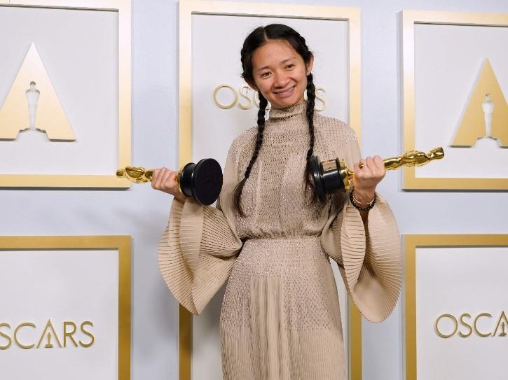 Chloé Zhao best director for  Nomadland