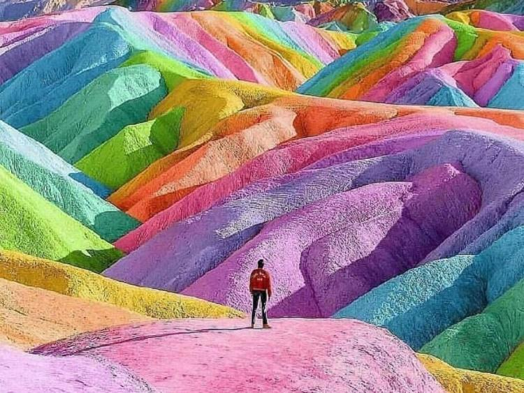 Rainbow mountains Peru | Photo: Instagram/aquarius.traveller
