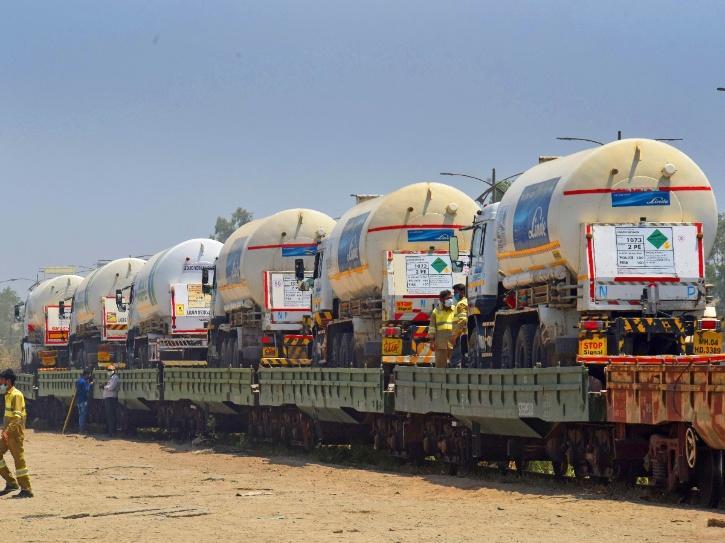 Indian Railways oxygen express