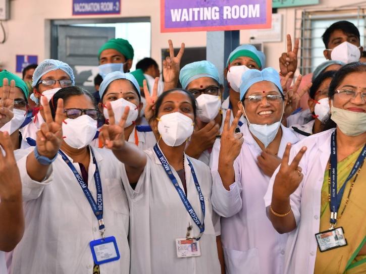 india-vaccination-drive photos