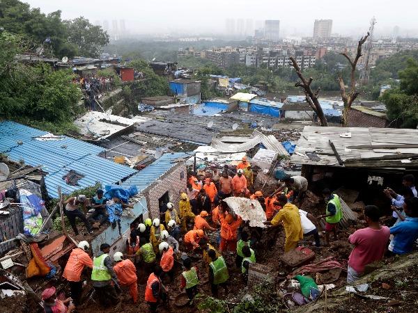 Heavy Rain Crippled Mumbai