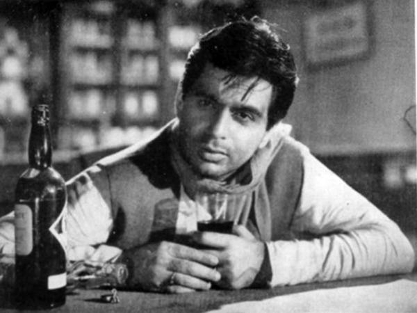 Dilip Kumar (as Chunni Babu) in Bimal Roy's Devdas (1955)
