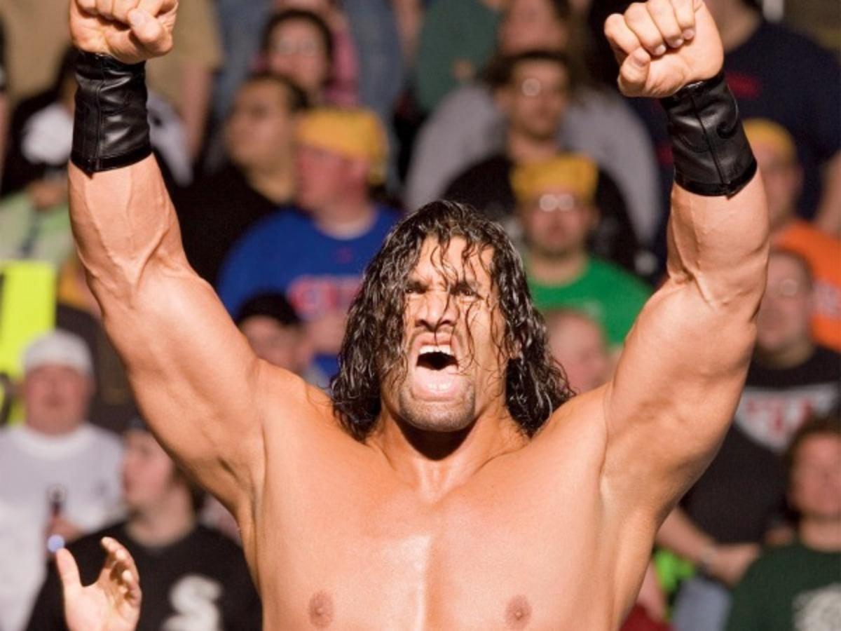 Great khali the wrestler Shawn Daivari