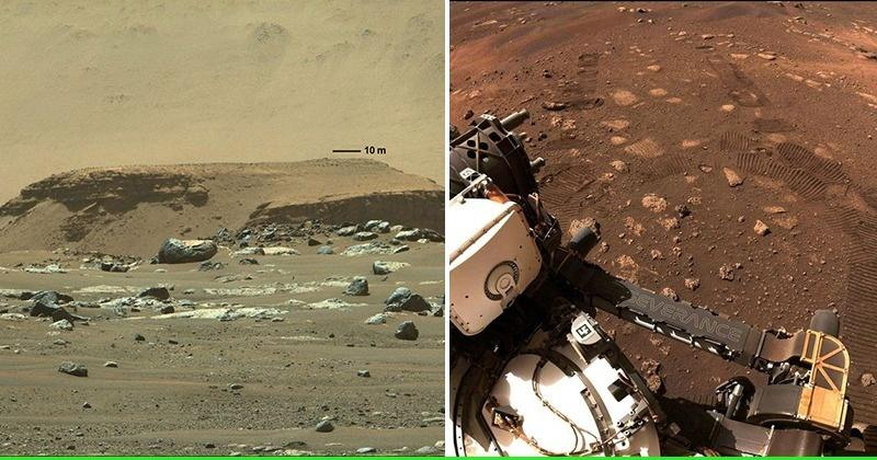 In Pics: Perseverance Takes Its First Trip On The Surface Of Mars - India Times