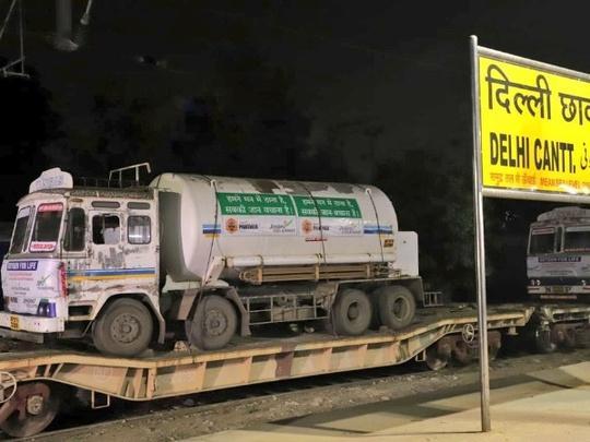 Oxygen express arrived Delhi